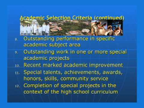 UC Irvine_Comprehensive Review Background