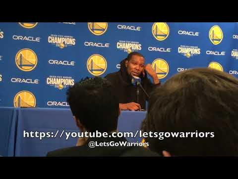 "Entire DURANT postgame: on ref James Williams ""in his feelings"", Michael Beasley's ""mental part"""