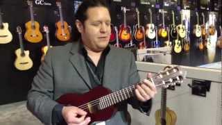 Kraft Music - Yamaha Guitalele GL1 PB Demo at NAMM 2013