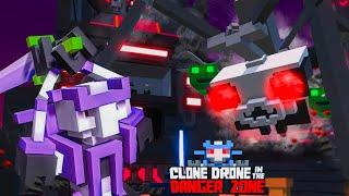 РОБОТЫ ХОТЯТ УНИЧТОЖИТЬ ЧЕЛОВЕЧЕСТВО! Прохождение Игры Clone Drone in the Danger Zone от Cool GAMES