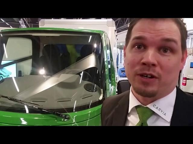 Carvia - eldriven lastbil för privatperson och företag