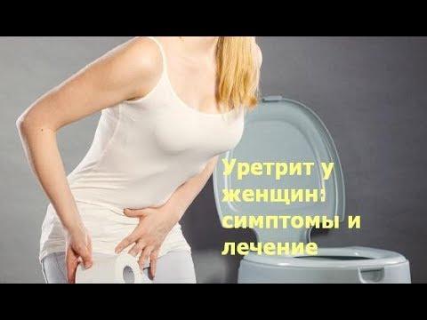 Уретрит у женщин: симптомы и лечение