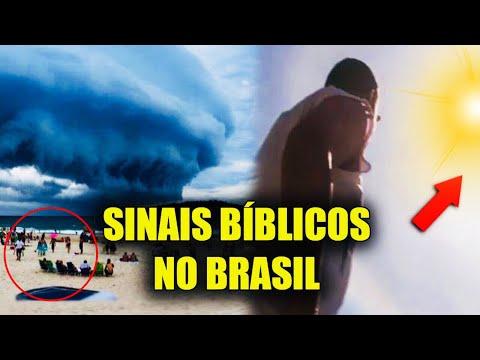 SINAIS BÍBLICOS SURGEM NO BRASIL E ASSUSTAM AO MOSTRAR QUE JESUS ESTÁ VOLTANDO
