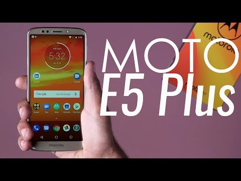 Moto E5 Plus: Unboxing & First Look | Hands on  | Price | [Hindi हिन्दी]