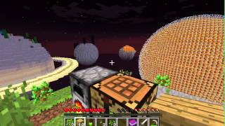Minecraft Solar System Survival Part 1