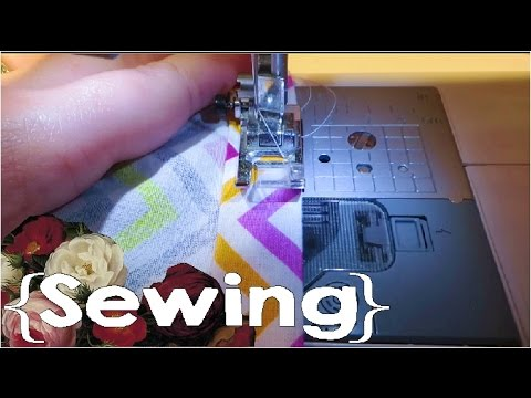 How to Use a Sewing Machine ║ How to Sew │Simple Sewing #2
