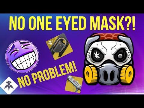 NO ONE EYED MASK? NO PROBLEM! DESTINY 2 BLACK ARMORY thumbnail