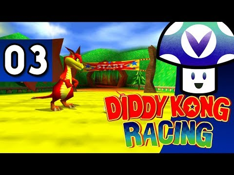 [Vinesauce] Vinny - Diddy Kong Racing (part 3)