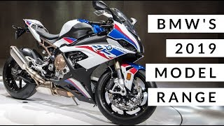 2019 BMW bikes | S1000RR, F850GS Adventure, R1250GS Adventure, R1250RS and R1250RS