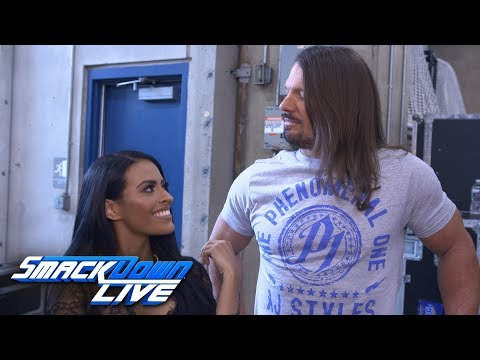 "Zelina Vega challenges AJ Styles on behalf of Andrade ""Cien"" Almas: WWE Exclusive, July 17, 2018"