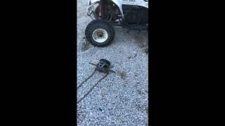 polaris trailblazer 250 extreme main clutch removal