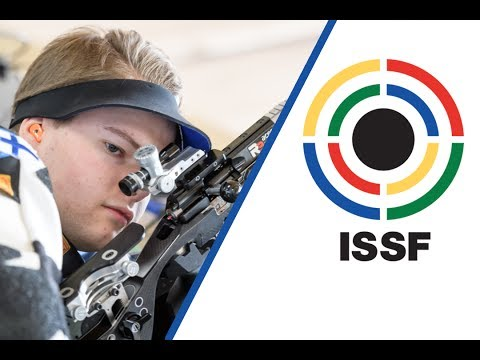 Interview with Cristian FRIMAN (FIN) - 2017 ISSF Junior World Championship in Suhl (GER)