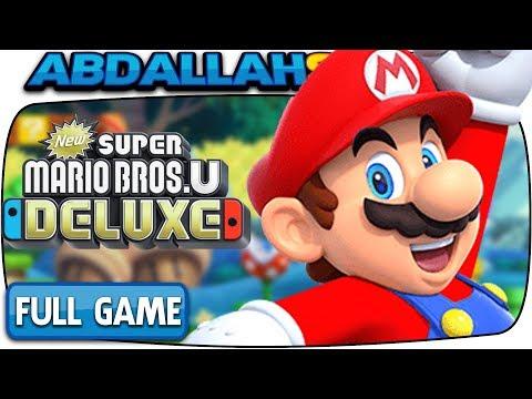 New Super Mario Bros U Deluxe Full Game 100 Walkthrough