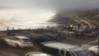 Public rescue woman from sea at Westward Ho!