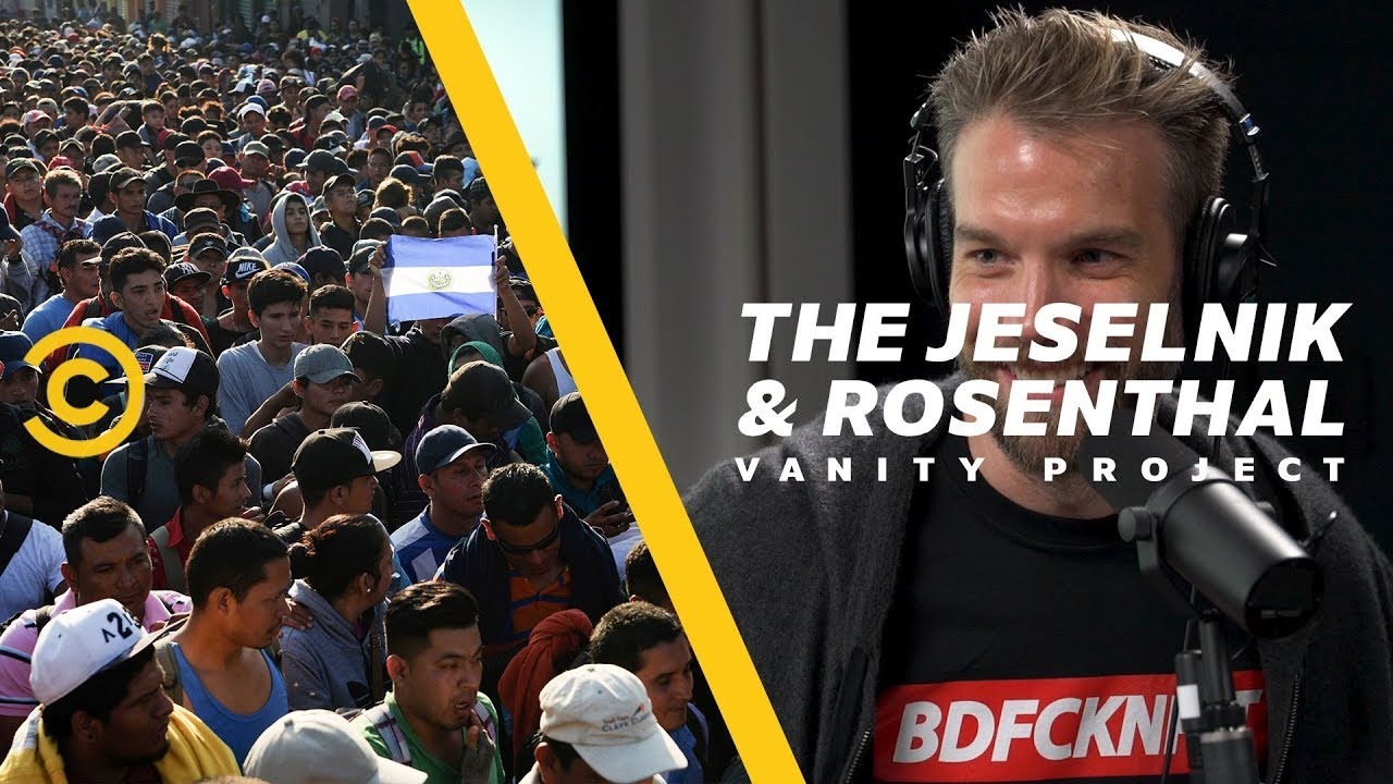 "Trump's Racist ""Sunday Night Football"" Caravan Ad - The Jeselnik & Rosenthal Vanity Project"