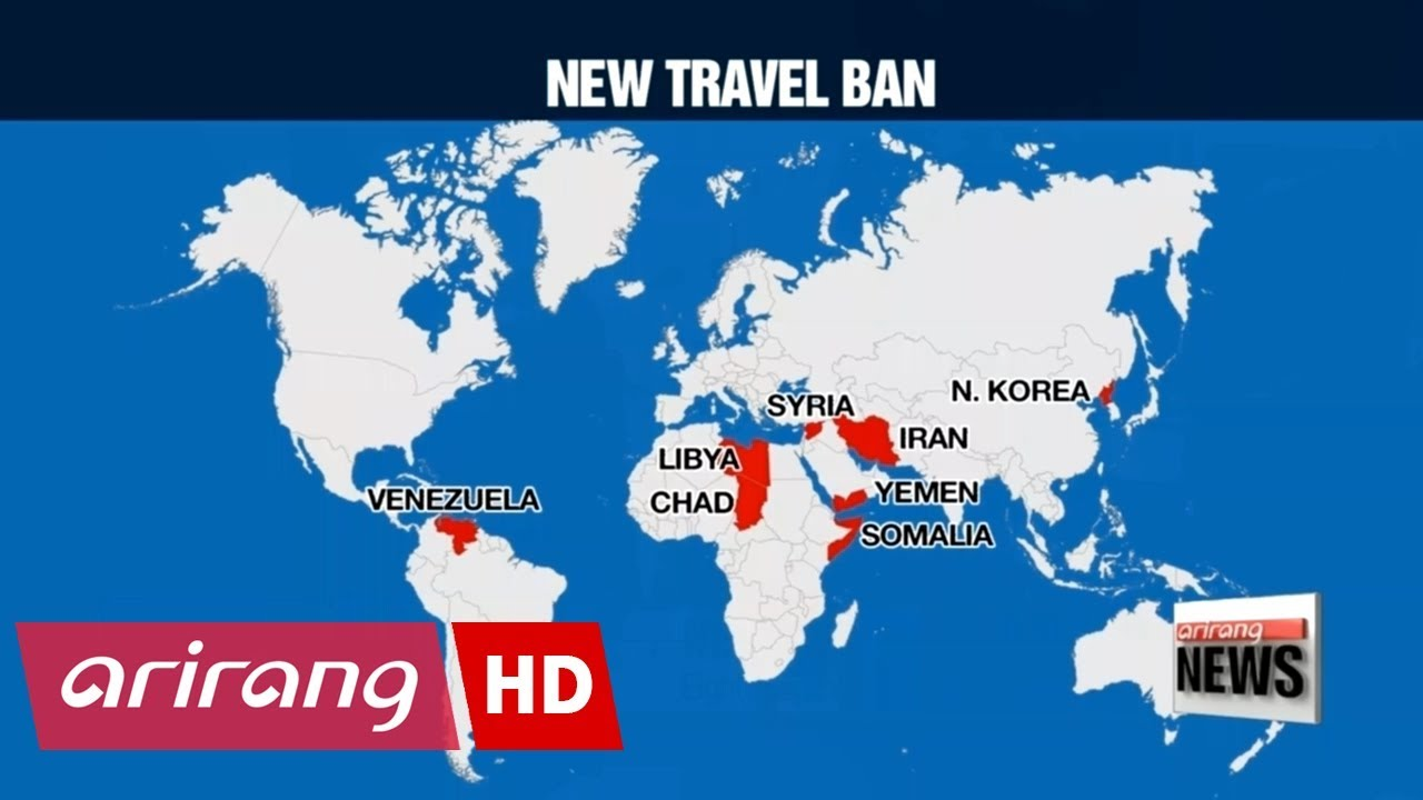 Countries Not In Travel Ban