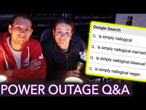 Painting My Nails in a Power Outage (answering the most Googled questions about me)