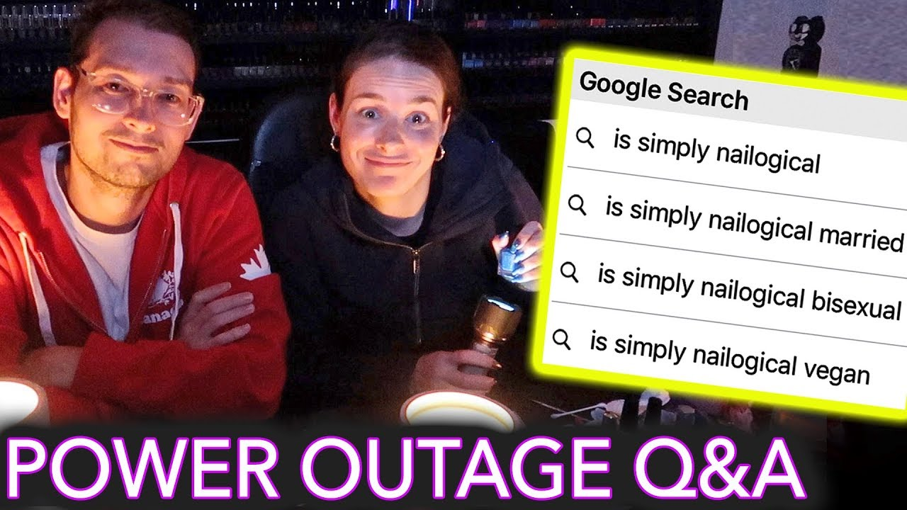 Painting My Nails in a Power Outage (answering the most Googled questions about me) image