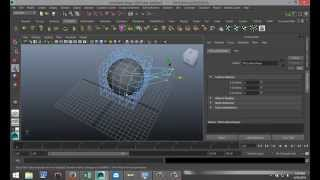 Maya 2014 Tutorial : How To Use The Lattice Tool