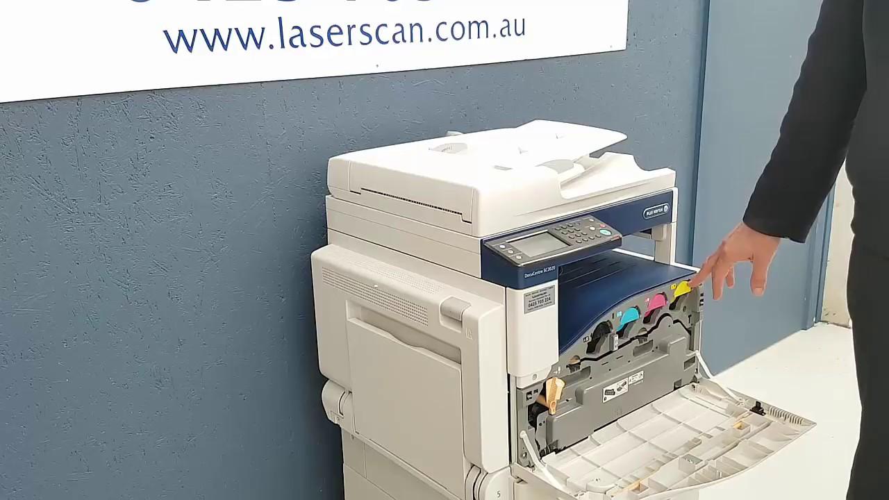Replace Toner Cartridge in Fuji Xerox DocuCentre SC2020 Printer