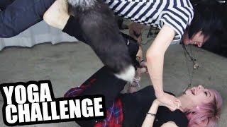 YOGA CHALLENGE WITH MY GIRLFRIEND - Alex Dorame