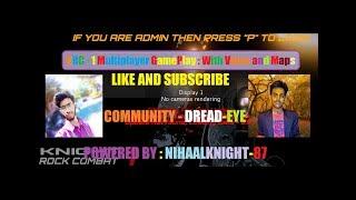 KNIGHT ROCK COMBAT - 1 (Voice - ASPA! IN 4k) Match Online FPS GamePlay (Part - 1)