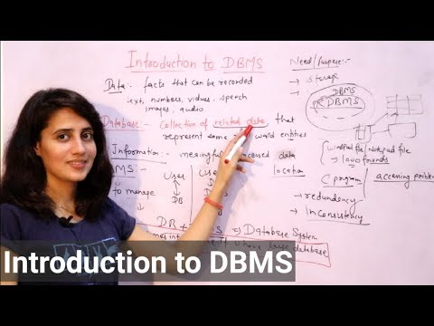 Introduction To DBMS | Database Management System