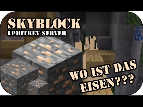 kev verteidigt und ich suche nur eisen xd minecraft skyblock youtube. Black Bedroom Furniture Sets. Home Design Ideas