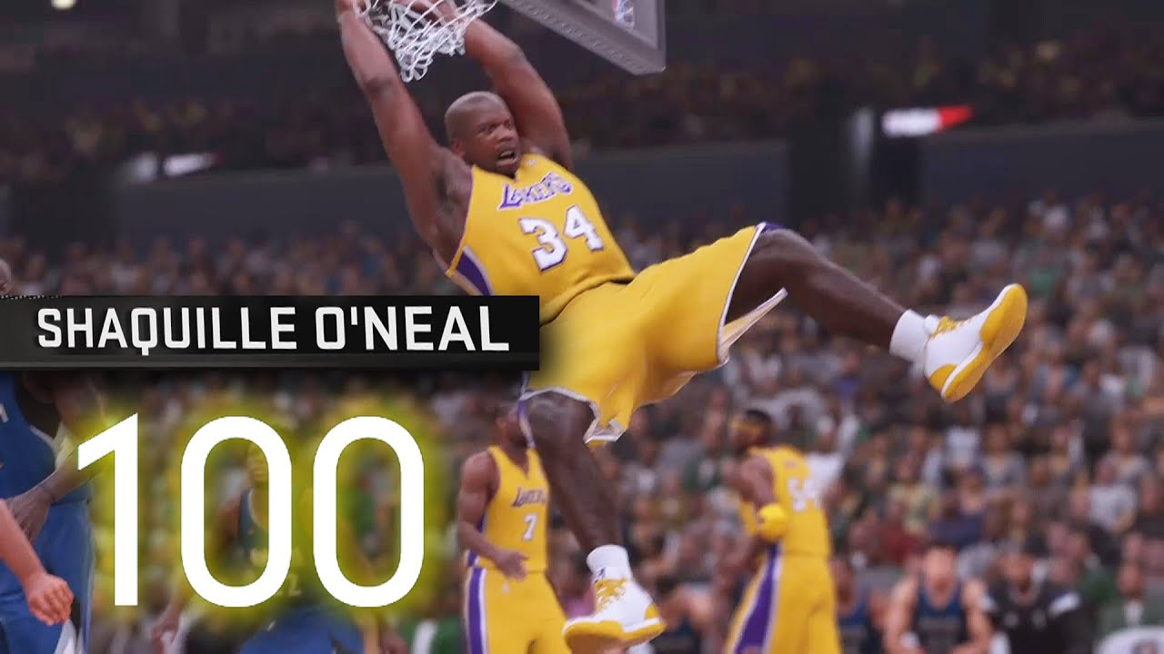 Nba 2k16 shaquille o 39 neal 100 point challenge nba 2k16 for Where does shaq live