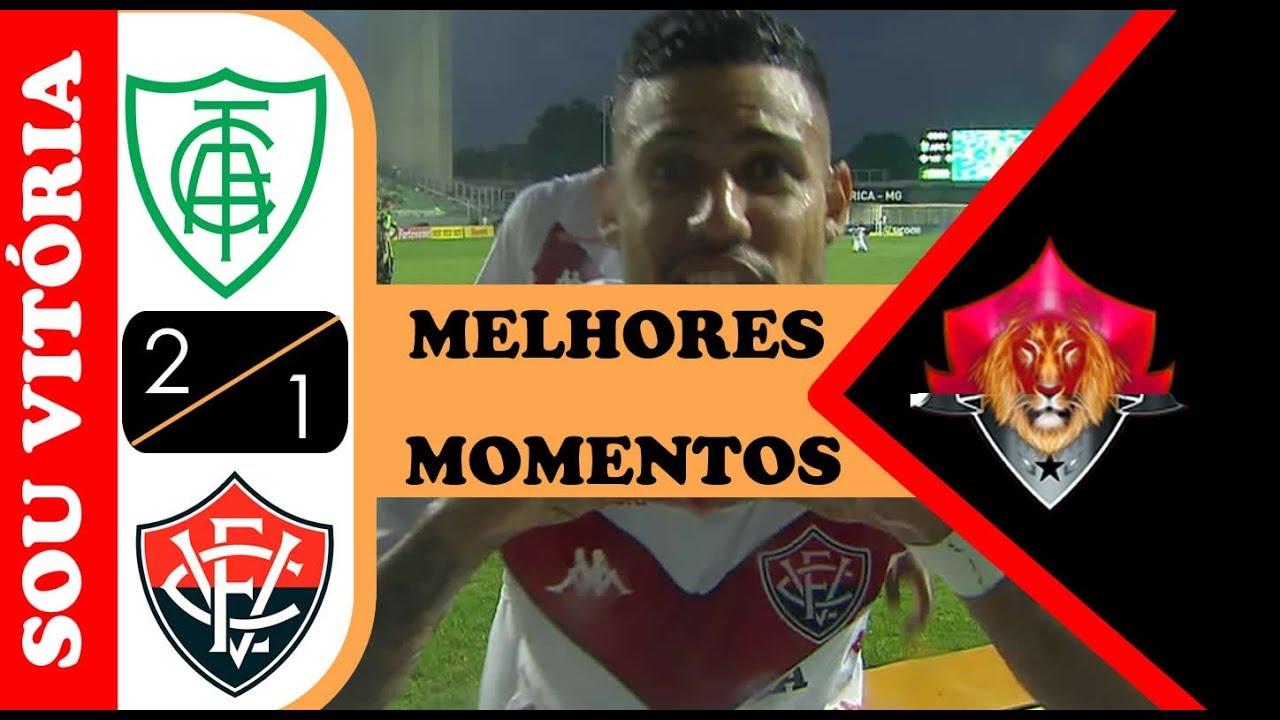 Melhores Momentos América-MG 2 x 1 Vitória Brasileirão Série B 2019