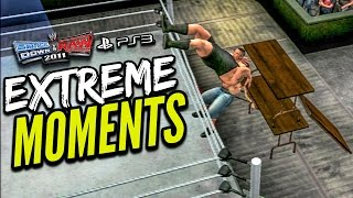 WWE Smackdown vs Raw 2011 - Extreme Moments