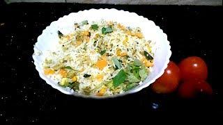 Tasty Egg Rice Recipe in Malayalam |Quick Lunch Box Recipe #76