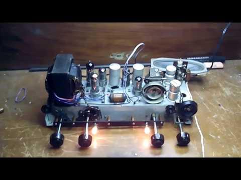 Restauracion radio antigua Philips Mod BE-412-A parte 2