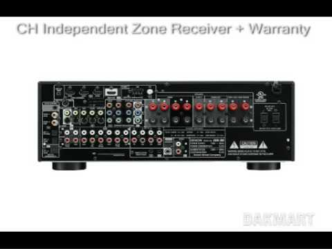 denon avr 789 1909 7 1 ch independent zone receiver avr789 youtube rh youtube com denon avr 789 manual pdf Denon AVR Manual