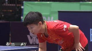 女子シングルス決勝 孫穎莎(中国)vs 陳夢(中国)第4ゲーム