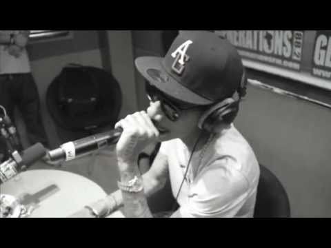 Wiz Khalifa - Roll Up (Live) in Studio Of A French Radio (generations88.2)