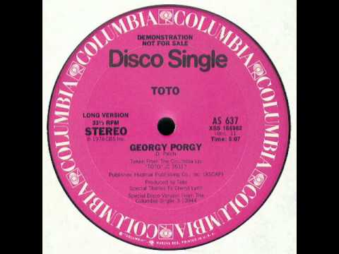 Toto  Georgy Porgy Disco Version