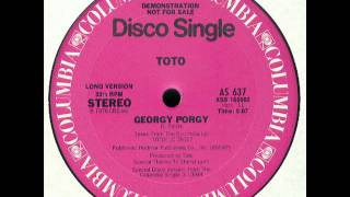 Toto - Georgy Porgy (Disco Version)