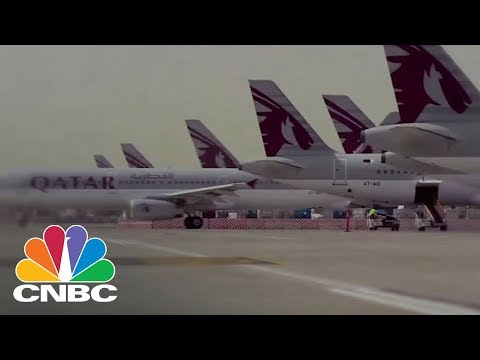 Qatar Airways Interested In Acquiring About A 10% Stake In American Airlines | CNBC