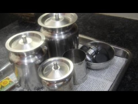 How To Clean Oil Can In Tamil | Oil Containers Cleaning Tips In Tamil | kitchen Tips Tamil | Gowri