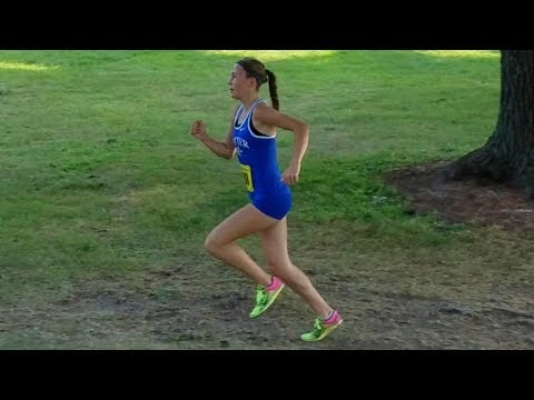 Grace Ping Cross Country Runner @ Eastwood Golf Course, Rochester, MN Sept 14th 2017