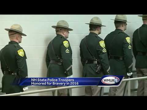 NH state troopers honored for work