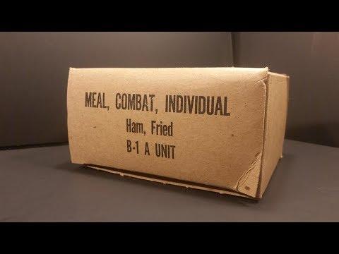 1966 Vietnam Meal Combat Individual MCI Fried Ham Vintage MRE Review Taste Testing