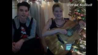 Juliet Simms and Andy Biersack on Stageit 24/12/2013