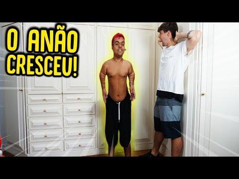 O ANÃO FICOU GIGANTE!! [ REZENDE EVIL ]