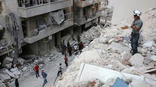 أخبار عربية - غارات سورية تقتل 25 نازحا في حلب