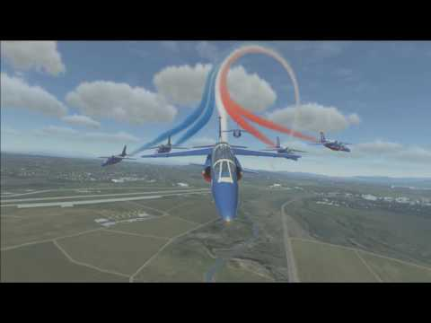 Patrouille de France by The Jetesons: Virtual Air16 from the Safran Museum