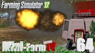 """Farming Simulator 17 Mini-Farm #64 - """"Wyburzanie stodoły"""""""