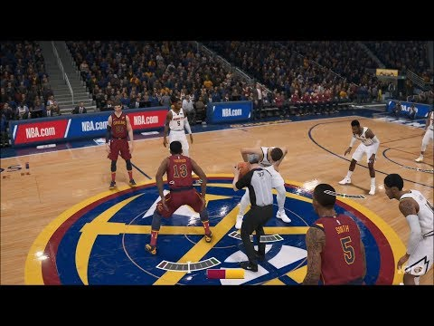 NBA Live 19 - Denver Nuggets Vs Cleveland Cavaliers - Gameplay (HD) [1080p60FPS]
