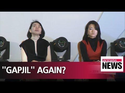 """Korean Air in the hot seat again with Cho Hyun-min's """"gapjil"""""""